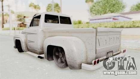 GTA 5 Slamvan Lowrider PJ1 for GTA San Andreas inner view
