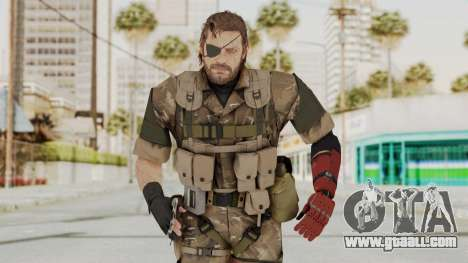 MGSV The Phantom Pain Venom Snake Wetwork for GTA San Andreas