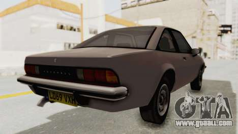 Vauxhall Cavalier MK1 Coupe for GTA San Andreas left view