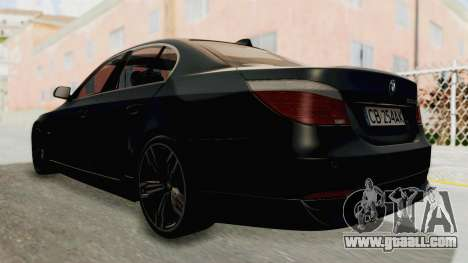 BMW 530D E60 for GTA San Andreas left view