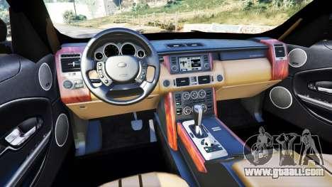 GTA 5 Range Rover Evoque v5.0 rear right side view