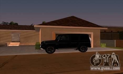 Mercedes G55 Kompressor for GTA San Andreas left view