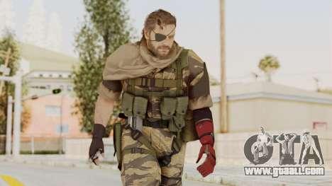 MGSV The Phantom Pain Venom Snake Scarf v2 for GTA San Andreas