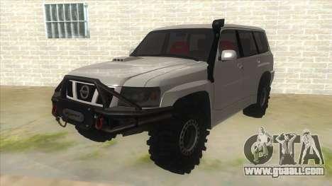 Nissan Patrol Y61 for GTA San Andreas