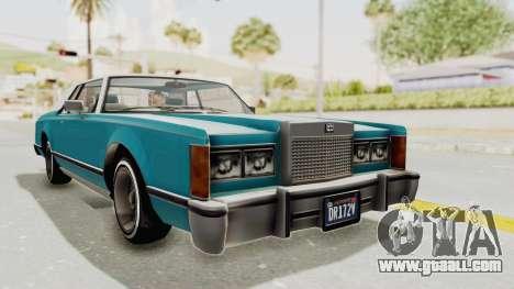 GTA 5 Dundreary Virgo Classic Custom v3 for GTA San Andreas