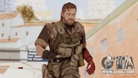 MGSV The Phantom Pain Venom Snake No Eyepatch v9 for GTA San Andreas