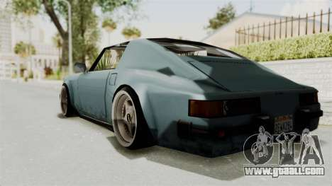 Comet 911 GermanStyle for GTA San Andreas left view