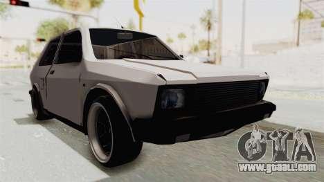 Zastava Yugo Koral 55 for GTA San Andreas