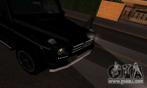 Mercedes G55 Kompressor for GTA San Andreas back view
