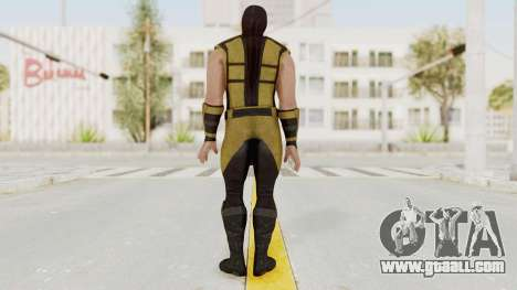 Mortal Kombat X Klassic Scorpion for GTA San Andreas third screenshot