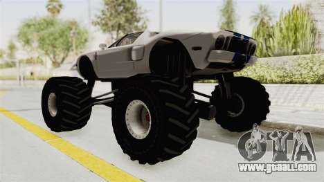 Ford GT 2005 Monster Truck for GTA San Andreas left view
