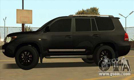 Toyota Land-Cruiser 200 for GTA San Andreas back view