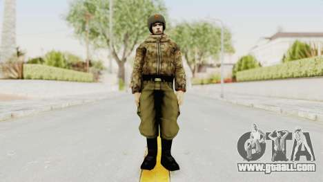Russian Solider 3 from Freedom Fighters for GTA San Andreas second screenshot