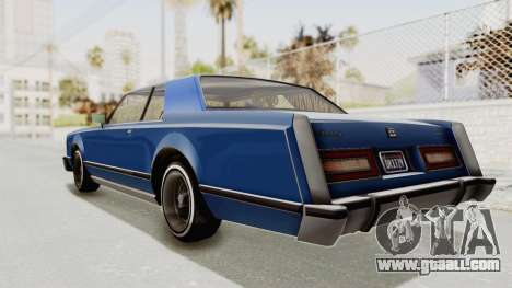 GTA 5 Dundreary Virgo Classic Custom v1 IVF for GTA San Andreas left view
