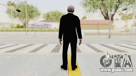 Batman Begins - Morgan Freeman for GTA San Andreas third screenshot