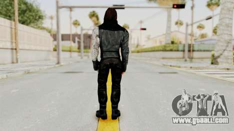 Captain America Civil War - Winter Soldier for GTA San Andreas third screenshot