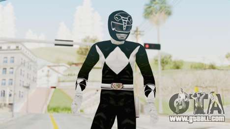 Mighty Morphin Power Rangers - Black for GTA San Andreas