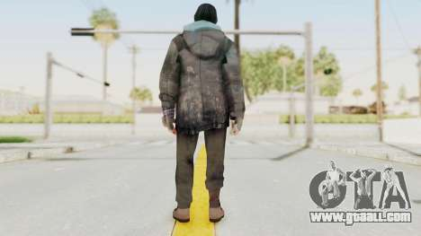 Bourne Conspirancy Homeless for GTA San Andreas third screenshot