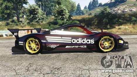 GTA 5 Pagani Zonda R v1.1 left side view