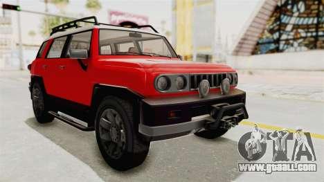 GTA 5 Karin Beejay XL IVF for GTA San Andreas right view