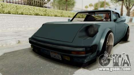 Comet 911 GermanStyle for GTA San Andreas