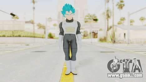 Dragon Ball Xenoverse Vegeta SSGSS for GTA San Andreas second screenshot