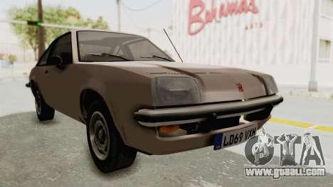 Vauxhall Cavalier MK1 Coupe for GTA San Andreas