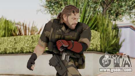 MGSV The Phantom Pain Venom Snake No Eyepatch v4 for GTA San Andreas