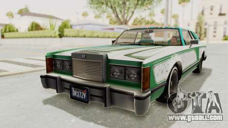 GTA 5 Dundreary Virgo Classic Custom v1 IVF for GTA San Andreas