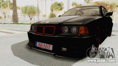 BMW M3 E36 Beast for GTA San Andreas