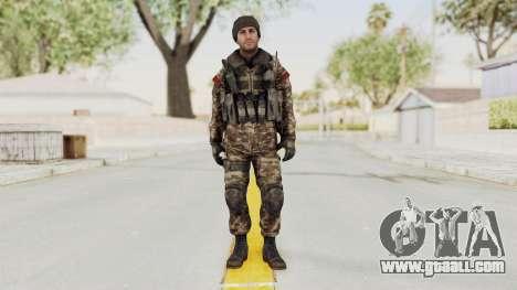 CoD MW3 Russian Military SMG v2 for GTA San Andreas second screenshot