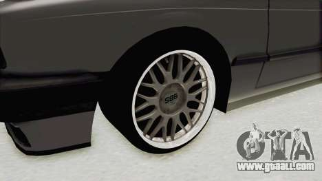 BMW M3 E30 for GTA San Andreas back view