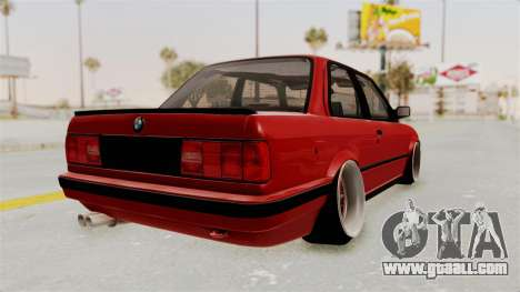 BMW M3 E30 Camber Low for GTA San Andreas right view