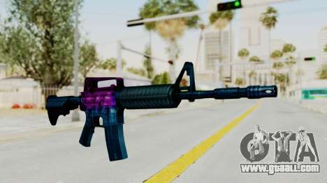 Vice M4 for GTA San Andreas