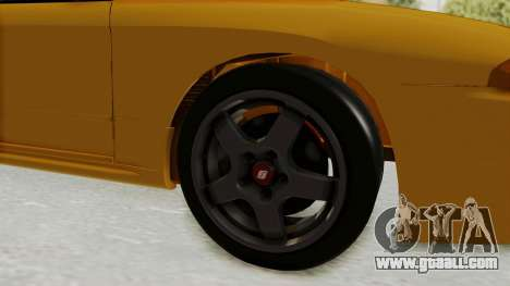 Nissan Skyline R32 4 Door Taxi for GTA San Andreas back view