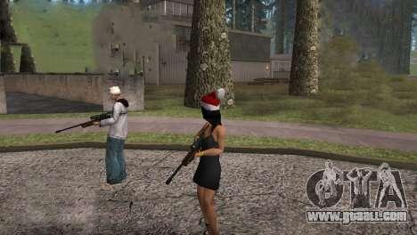 VIP Sniper Rifle for GTA San Andreas fifth screenshot