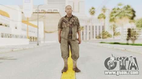 COD BO Dempsey for GTA San Andreas second screenshot