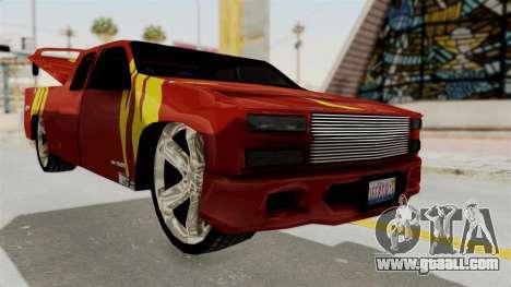 Mitsubishi Pajero Iraqi Pickup for GTA San Andreas