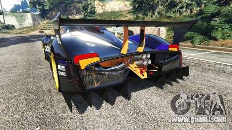 Pagani Zonda R v1.1 for GTA 5