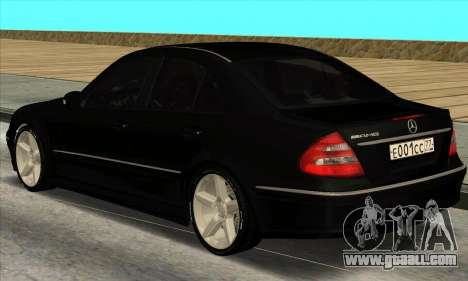 Mercedes-Benz E55 W211 AMG for GTA San Andreas back left view