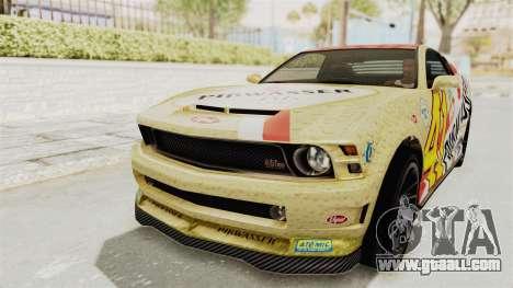 GTA 5 Vapid Dominator v2 SA Style for GTA San Andreas interior