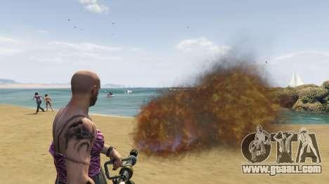 GTA 5 Real Flamethrower 1.5 seventh screenshot
