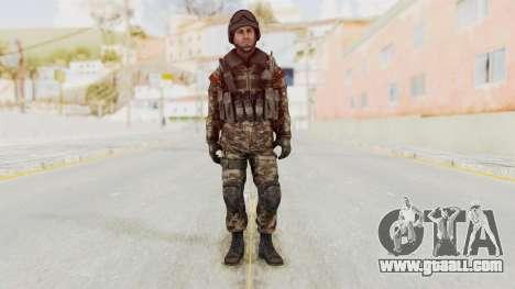 CoD MW3 Russian Military SMG v1 for GTA San Andreas second screenshot
