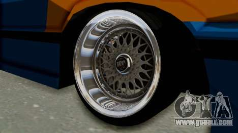 Honda Civic EF9 HellaFlush for GTA San Andreas back view