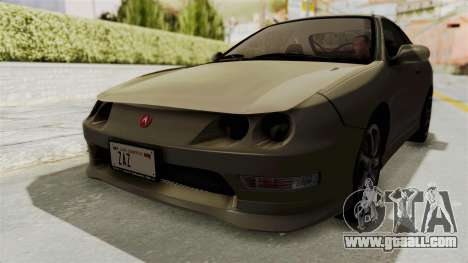 Acura Integra Fast N Furious for GTA San Andreas right view