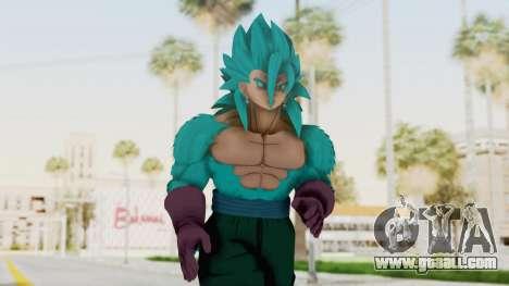 Dragon Ball Xenoverse Vegito SSJ42 SSGSS for GTA San Andreas