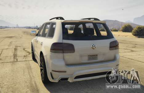 GTA 5 Touareg 2008 R50 v1.0 rear left side view
