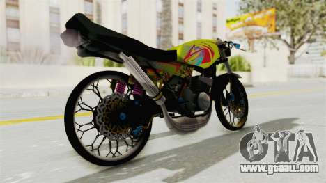 Yamaha RX King 200 CC Killing Ninja for GTA San Andreas left view