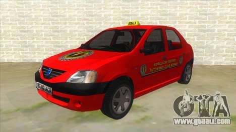 Dacia Logan Scoala for GTA San Andreas