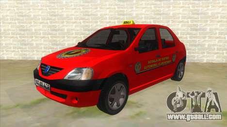 Dacia Logan Scoala for GTA San Andreas